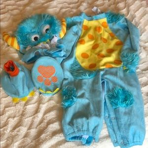 Toddler size L monster costume